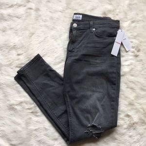 "NWT Hudson ""Krista Super Skinny"" distressed jeans"